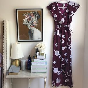Japna floral maxi dress sz Small